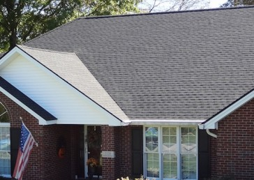GAF Timberline Charcoal Shingles
