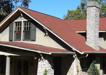 CertainTeed Landmark Cottage Red Shingles