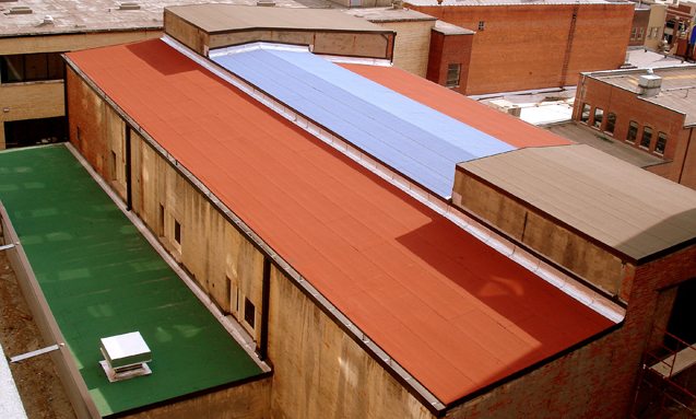 BUR & Modified Bitumen Industrial Roofing Systems