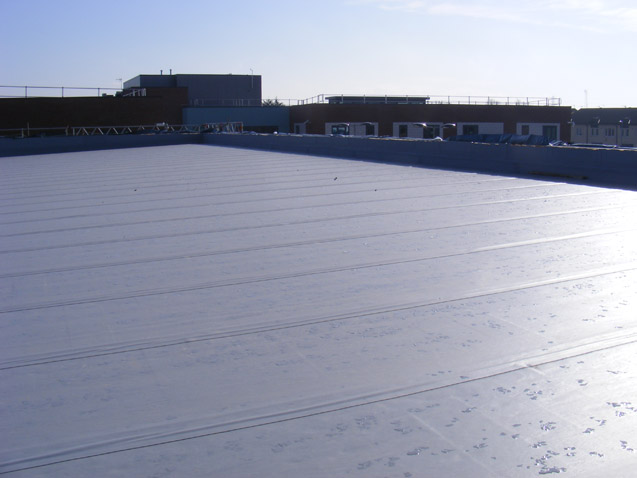 Commercial EPDM (rubber) roofing systems