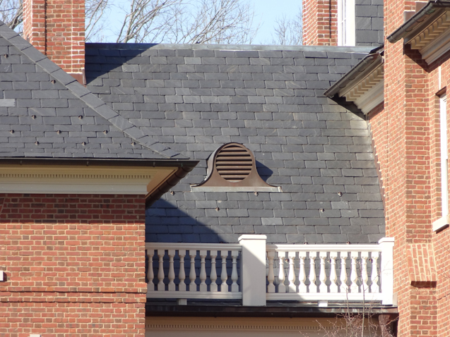 Slate residential roof types american roofing metal for Types of residential roofs